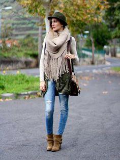 marilynscloset Outfit   Invierno 2013. Cómo vestirse y combinar según marilynscloset el 19-2-2014