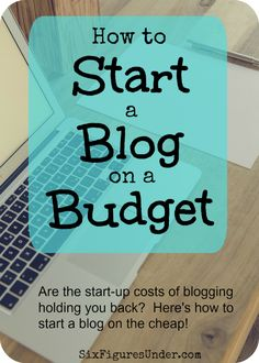 Have you wanted to start a blog to earn money, but the costs of starting up are holding you back? Starting a profitable blog doesn't have to cost an arm and a leg. Here's how to start a blog on the cheap!