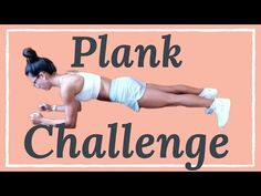 Tone and tighten your abs with this flat stomach workout challenge. This quick plank challenge is the best way to strengthen your core and tone your abs. Plank Ab Workout, Full Body Hiit Workout, Workout For Flat Stomach, Fitness Workout For Women, Ab Workout At Home, Dumbbell Workout, At Home Workouts, Aerobic Fitness, Arm Workouts