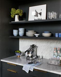 Modern Luxury Kitchens For A Grand Kitchen Modern Kitchen Interiors, Luxury Kitchen Design, Best Kitchen Designs, Luxury Kitchens, Interior Design Kitchen, Cool Kitchens, Modern Kitchens, Kitchen Modern, Dream Kitchens