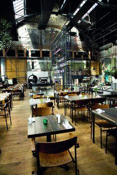 Grand Café, Bistro, Khotinsky, Dordrecht, Zuid-Holland. Restaurant 2, Restaurant Interiors, Cafe Bistro, Cafe Interior Design, Brewery, Netherlands, Holland, Hotels, Backyard