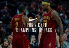 """#sneakers #news  Nike LeBron/Kyrie """"Championship"""" Packs Releasing In Limited Quantity"""