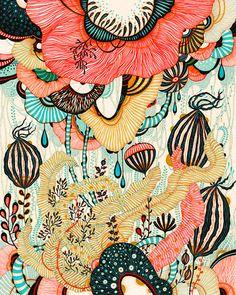 Flores motivos colores