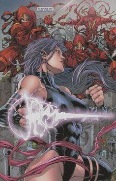 Psylocke vs The Hand