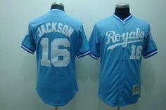 Bo Jackson Jersey Blue Mitchell & Ness #16 Kansas City Royals Jersey $22.99 Save: 71% off http://www.nfljerseysupply.cc/bo-jackson-jersey-blue-mitchell-ness-16-kansas-city-royals-jersey-p-7027.html