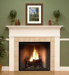 Montpelier Custom Fireplace Mantel - No Flutes
