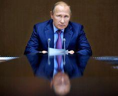 O presidente da Rússia, Vladimir Putin (Foto: Alexei Druzhinin/Kremlin Pool Photo via AP)