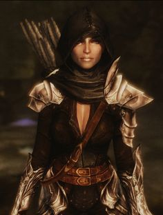 OK OK OK OK OK   Dread Hunter and Huntress Armor Echo at Skyrim Nexus - mods and community