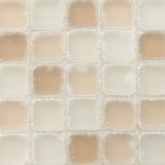 Seaside tumbled glass in soothing warm tones. Tiled Bathrooms, Small Bathroom Tiles, Tile Installation, Home Spa, Kids Bath, Bath Shower, Guest Bath, Beach Cottages, Powder Room