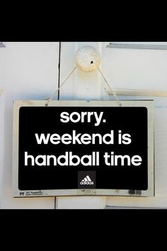 Sorry, weekend is handball time. Handball Players, Strength Training For Beginners, Volleyball Shirts, Just A Game, Training Motivation, Perfect Game, Sport Body, Sports Activities, Cool Words