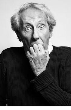 Jean Rochefort, Sebastien VincentCe mec est un clown cela doit etre effroyablement difficile d'en faire son portrait, et non le portrait du clown