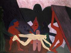 Bob Thompson, The Struggle, 1963