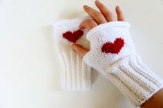 Knitting Fingerless Gloves