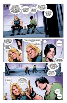 """""""You did create a most terrible slash upon their internet.."""" """"I hacked the internet, Thor. It's different. Although I have done the other thing too.."""" #ALLTHELOLZ (Loki: Agent of Asgard #1)"""
