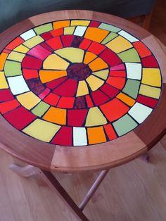 Mosaic Wall Art, Mosaic Diy, Mosaic Crafts, Mosaic Projects, Tile Art, Mosaic Tiles, Art Projects, Mosaics, Mosaic Stepping Stones