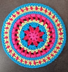 Mandala for Yarndale 2014