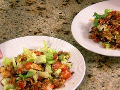 Neely's Chicken Taco Salad recipe from Patrick and Gina Neely via Food Network