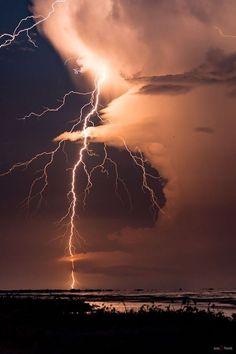 lightning & clouds