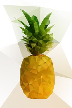 Pineapple Art Print by Three of the Possessed | Society6