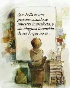 Imperfecta, sin aparentar