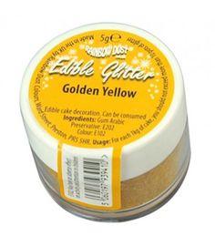 bote amarillo dorado