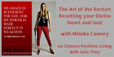 C18-19 The Art of the Restart with Mimika Cooney – Self Discovery Radio Awesome Interview with #MimikaCooney