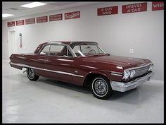 1963 Chevrolet Impala  327/250 HP, 4-Speed