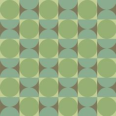Bradbury Vintage Wallpapers | 1960s | The Mod Generation | Reverb in Tambourine Green