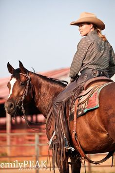 #Cowgirl #Western  Some of the best cowboys aren't boys...  http://www.ajperformancehorses.com/
