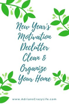 Here we are on Day 3 of our New Year's motivation series. Today, we are talking my best tips to declutter/organize your home. I've got more than 100 posts