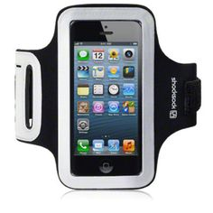 iPhone 5 Shocksock Reflective Sports Armband Holder - Black £12.99