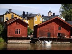 Europe Video Production travel films: tourism of Porvoo in southern Finland - Old town of Porvoo Helsinki, Finnish Language, Finnish Words, Europe, Travel Videos, Best Cities, Old Town, Future, House Styles