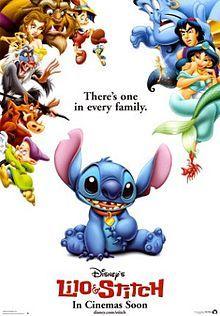 Lilo & Stitch (2002) another great Disney cartoon