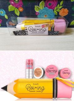 Concealer: Benefit 5-Pc Boi-Ing Concealer Kit With Eraser Case In Shade No.2 ~New~ -> BUY IT NOW ONLY: $43.99 on eBay!