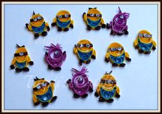 Trupti's Craft: Paper Quilling Minions
