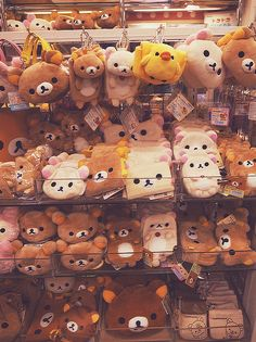 the feeling when you want to grab them all rilakkuma store