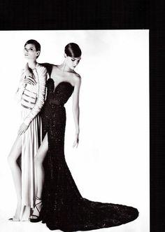 Freja Beha Erichsen  Arizona Muse by Karl Lagerfeld for Numéro no. 121