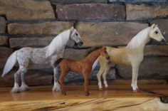 THE PONY HABIT WOOL EQUINES - mini, $50, ponies, $85, horse $120, draft $150 with feathers, tack sets any discipline include saddle, bridle and choice color saddle pad, or driving harness set - avail in black or brown - $75. Eyes are glass and hooves are made from clay. we need several pics of your equine to custom make it for you. we take cc and paypal and will email you an invoice. takes about 2 weeks right now. Paints, Apps & dappled are $20 extra.