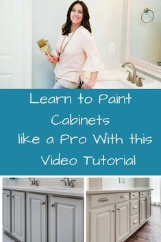 If you're a cabinet painting newbie, the beginner's guide to painting cabinets will eliminate all of the guess work. Painting Cabinets, Bookshelves In Bedroom, Wall Decor Bedroom Girls, Cabinet, Color Combos, Best Kitchen Cabinets, Home Decor Signs, Small Decor, Combo Image