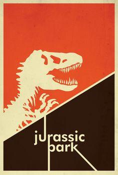 Alternative Movie Poster Design // Movie Friday: Dinosaurs Return in 'Jurassic Park 3D'