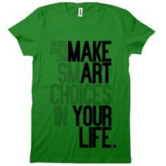 make art your life.