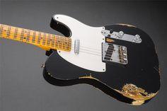 1952 Heavy Relic® Telecaster®   Telecaster® Electric Guitars   Fender® Guitars