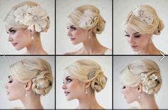 Un' alternativa al velo da sposa: fiori, gioielli, cerchietti