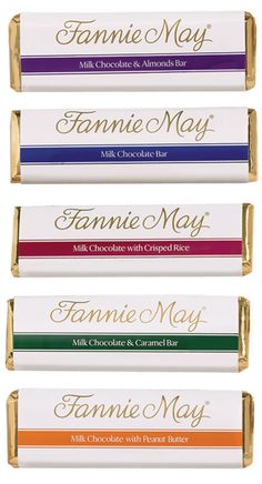 FANNIE MAY FUNDRAISING CHOCOLATE BARS