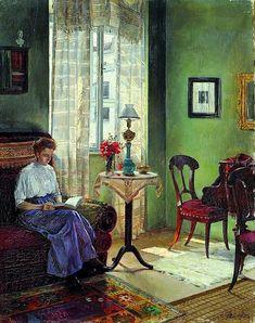 Reading and Art: Atanasije Popovic