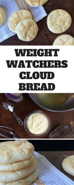 Weight Watchers Cloud Bread is a tasty alternative to traditional bread, crackers, pizza crusts, and more. I love it for sandwiches and snacking that is super low carb and low in points! #weightwatchers #freestyle #smartpoints #recipes via @bludlum