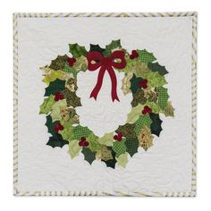 Holly Wreath Wall Hanging - Catalog