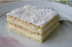 The Perfect Recipe Project: Two ingredient icebox yogurt cake Hungarian Desserts, Hungarian Recipes, No Bake Desserts, Delicious Desserts, Yummy Food, Cake Recipes, Dessert Recipes, Cherry Cake, Yogurt Cake