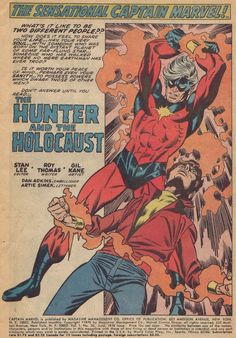 Diversions of the Groovy Kind: Making a Splash: Gil Kane's Captain Marvel