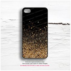 PLEASE NOTE: Glitter Texture is a PRINT, NOT REAL GLITTER. Its glitter/splatter texture printed on gold.  Be Flirty. Be Bright. Be Radiant with Hello Nutcase unique iPhone designs!  Geometric, floral, tribal, abstract, southwestern, boho, cottage chick, french, victorian, fantasy, hipster, kitsch, minimalist, modern, primitive, retro, rustic, techie, traditional, romantic, zen, personalized…you name it! We got them all - over 400 designs lovingly crafted in our studio in New Jersey.  &#x...